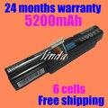 Jigu 6 células bateria do portátil para acer aspire timelinex 3830 t 3830tg 4830 t 4830tg 5830 t 5830tg 3inr18/65-2 as11a3e as11a5e