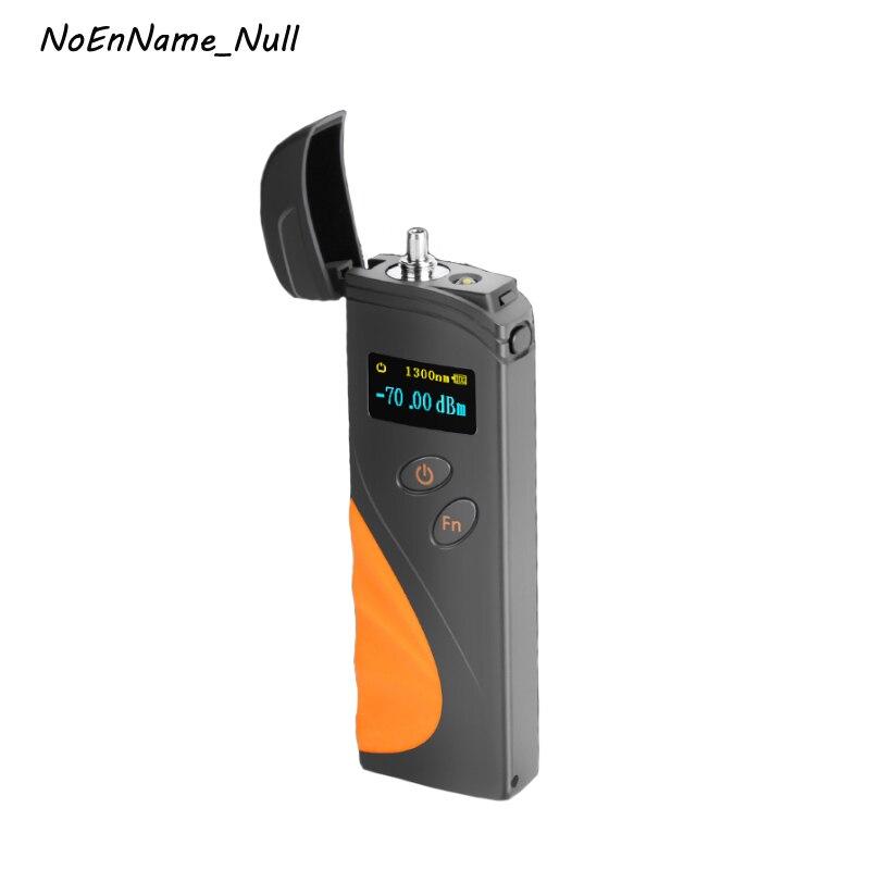 Handheld Mini Medidor de Potência Óptica de fibra-70 ~ + 3dBm Suporte SC/FC/ST interface Recarregável OPM FTTH Cabo De Fibra Óptica Testador