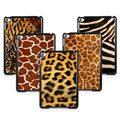 Animal Prints Leopard Giraffe Owl Zebra Skin Plastic Hard Cover Case For iPad Mini 1 2 3 wtih Screen Film