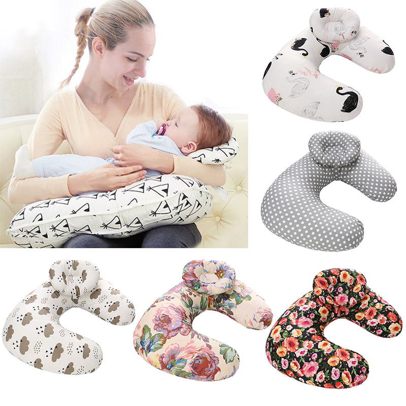 Baby Nursing Pillows Maternity Baby U-Shaped Breastfeeding Pillow Infant Cuddle Cotton Feeding Waist Cushion