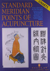 standard meridian points of acupuncture. Traditional Chinese Medicine English Wall book Knowledge is priceless and no borders-84