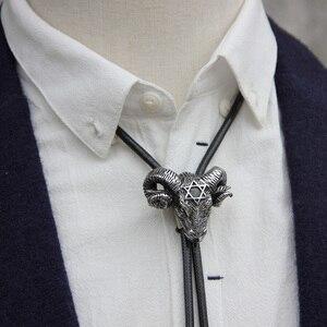 Image 2 - Cravate bolo de mouton en acier inoxydable
