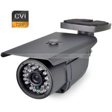 HDCVI 720P 1.0MP Outdoor CVI Security Camera 3.6mm Lens 30PCS IR LRDs