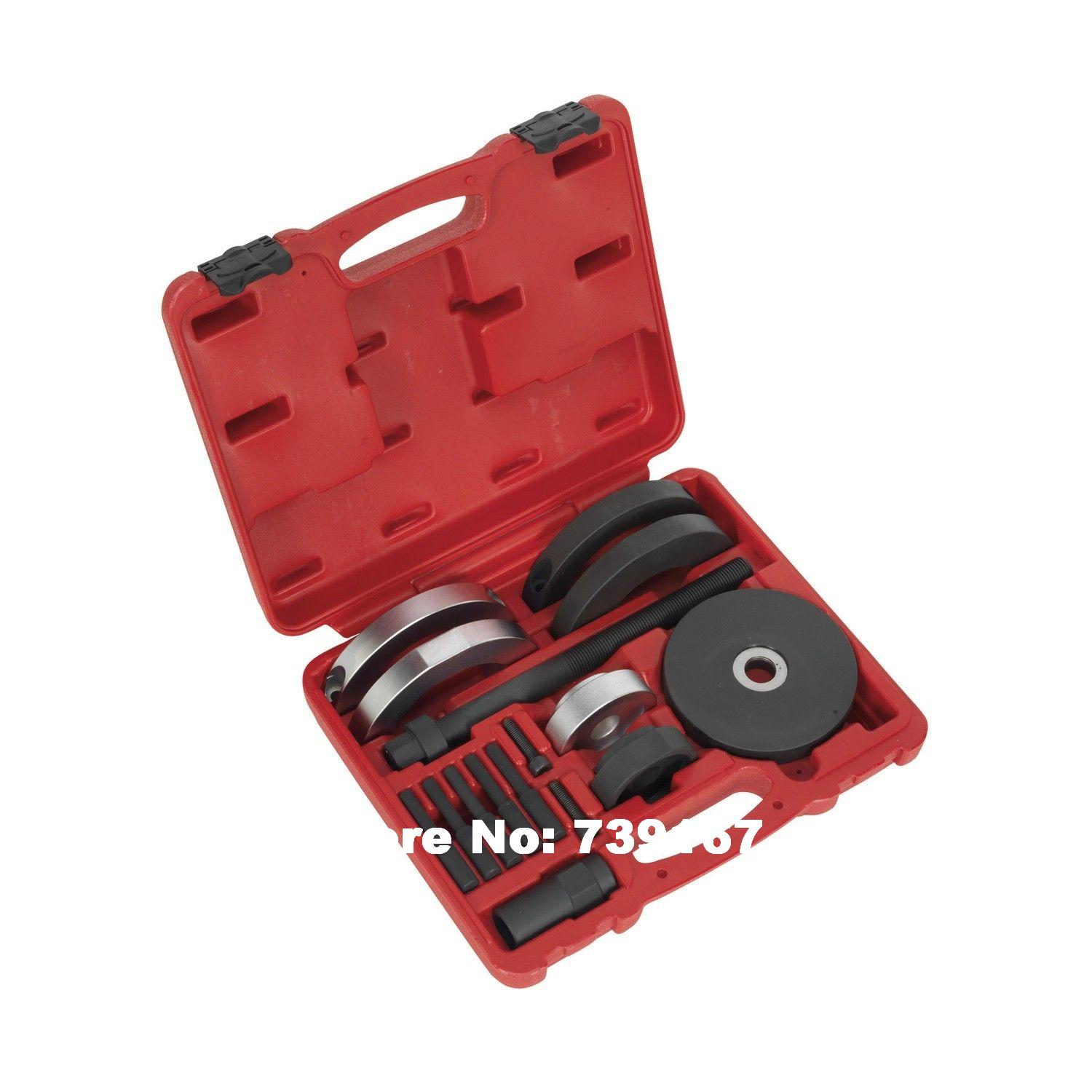 Front Wheel Bearing Installation Removal Tool Set 72MM For VW AUDI SEAT SKODA ST0148 a7020 car engine stretch ribbed belts pulley v belt mounting tool for bmw for vw for audi for skoda installation removal tools