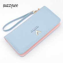 2017 New Women Wallets Multi-card Female Leather Wallet Ladies Long Zipper Purse Woman Purses Card Holder Portefeuille femme