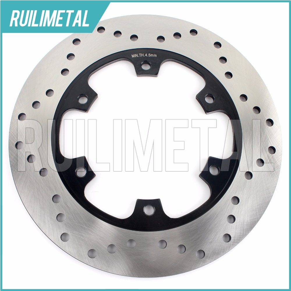Rear Brake Disc Rotor for 992 ST3 S ABS 996 ST4S Sports Touring 998 S-FE Matrix Reloaded GT 1000 05 06 07 08 09 10 rear brake disc rotor for yamaha fz1 non abs 06 09 fz6 naked non abs 04 07 fz6 ns naked 05 06 motorcycle