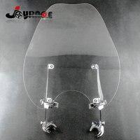 Motorcycle Windscreen Windshield Wind Shield For Harley Sportster XL883 XL1200