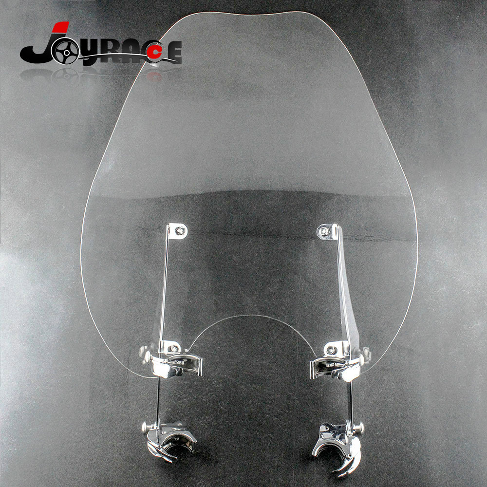 купить Motorcycle Windscreen Windshield Wind Shield For Harley Sportster XL883 XL1200 по цене 9971.83 рублей