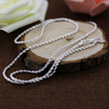 2016 New 2mm Rope Chain noble women wedding party nice 925 sterling silver Necklace Fashion Jewelry 16-24 inches yw15827