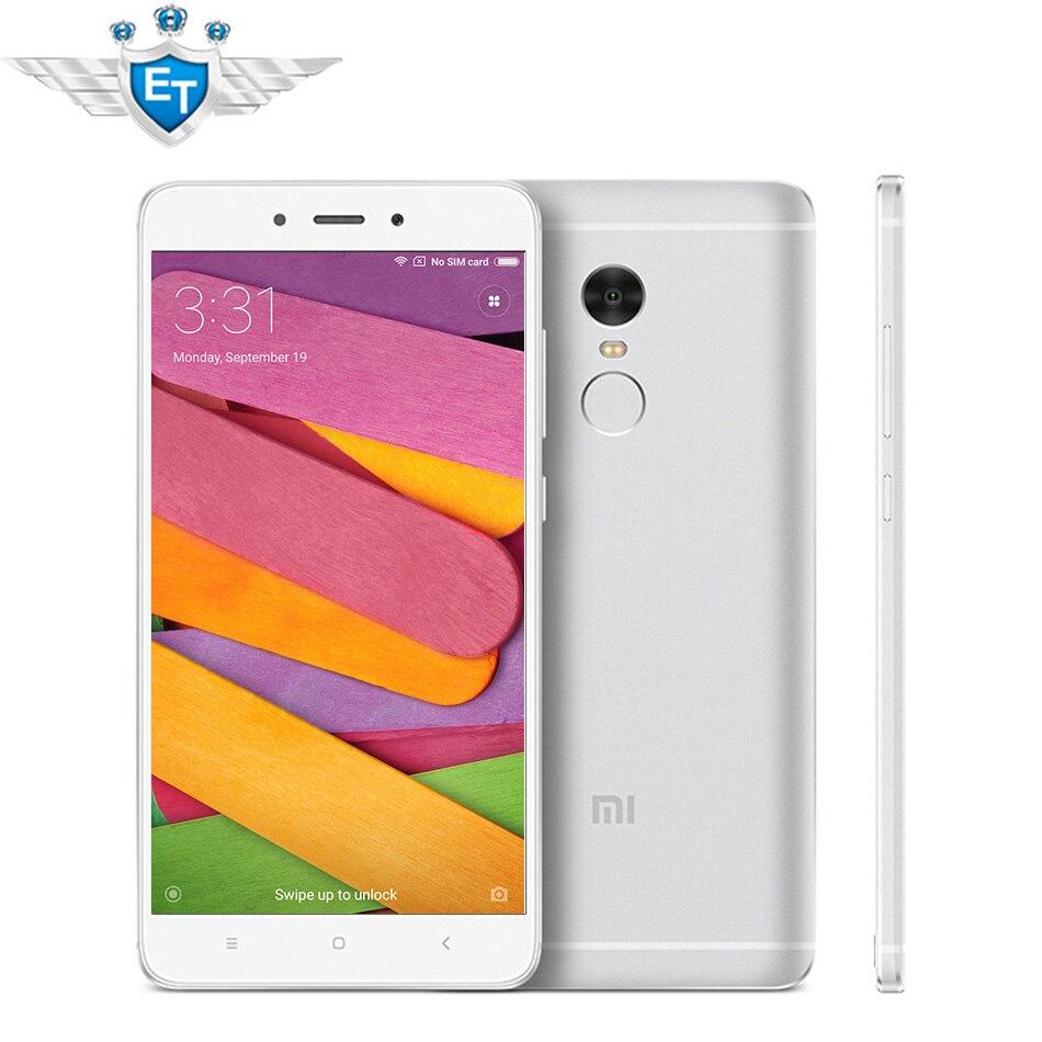 Original Xiaomi Redmi Note 4 3GB RAM Prime 5.5 inch 1080P MTK Helio X20 Deca Core  32GB ROM 13MP Metal Body Fingerprint phone