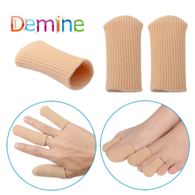Demine Aid Finger Protector Corn Toe Separator Gel Sleeves Insole Eye Care Tail Separation Sleeve Hallux Valgu Insoles