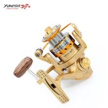 Ultra-light Fishing Spinning Reel Portable 12+1BB 5.5:1 Metal Head Mini Fishing Reel Durable Freshwater Saltwater Fishing Reel