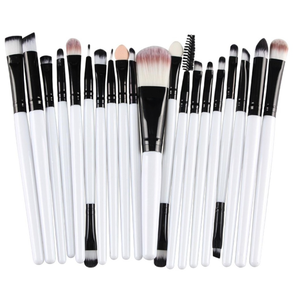 20pcs Professional Makeup Brushes Set Powder Foundation Eyeshadow Make Up Brushes Women Cosmetic Tool Soft Synthetic Hair MAANGE