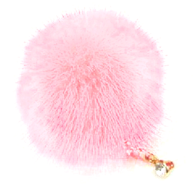 1X 3D Pompon Bling rhinestones Dust Protection Headset 3.5 mm Dust Protection plug dustproof Plug dustproof Plug Cap Headset
