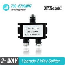2 WAY Divider Splitter 700 MHz ถึง 2700 MHz สำหรับ GSM WCDMA DCS LTE PCS AWS โทรศัพท์มือถือสัญญาณ Booster repeater เครื่องขยายเสียง #19