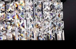 Image 4 - Lengte 1500mm NIEUWE Moderne Kristallen Kroonluchter voor eetkamer Rechthoek Kristal Kroonluchter armatuur