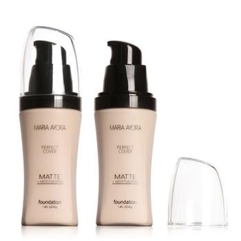 MARIA AYORA Liquid Foundation Moisturizing Long Lasting Oil Control Full Cover Up Blemishes Concealer Base Makeup Cosmetics