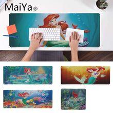 Maiya Princess Ariel Little Mermaid speed control Клавиатура для ноутбука большой игровой коврик для мыши Lockedge коврик для мыши для ноутбука