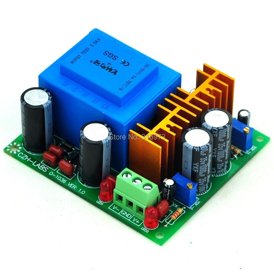 In Ac230v Out Positive Negative Dc125158v Adjustable Voltage Regulator