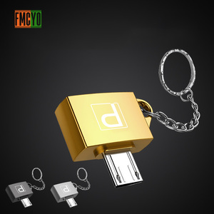 Image 4 - Otg Android Micro Mobile Phone Tablet U Disk Connection Usb Card Reader Light Hanging Chain Adapter