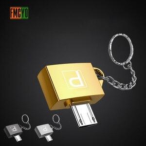 Image 4 - Otg アンドロイドマイクロ携帯電話タブレット U ディスク接続 Usb カードリーダーライト吊りチェーンアダプタ