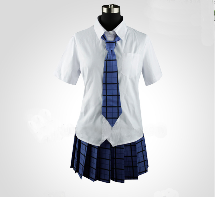 Hot Sale Popular JP Anime akuma riddle Costumes Azuma Tokaku School Uniforms Students Lady font b