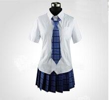 Горячая распродажа популярные JP аниме akuma — загадка костюмы Azuma Tokaku школьной формы студентов леди косплей одежды