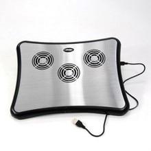 Aluminum alloy laptop radiator belt 4 hub cooling rack(China (Mainland))