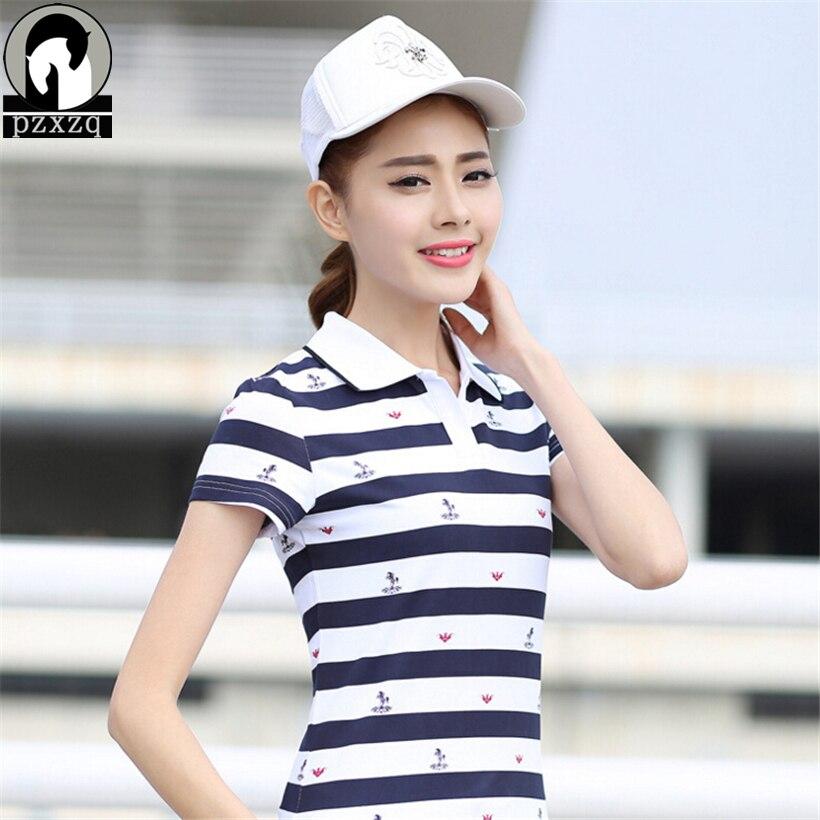 Summer women polos cotton ladies polo shirt roupas brand for Polo shirt girl addiction
