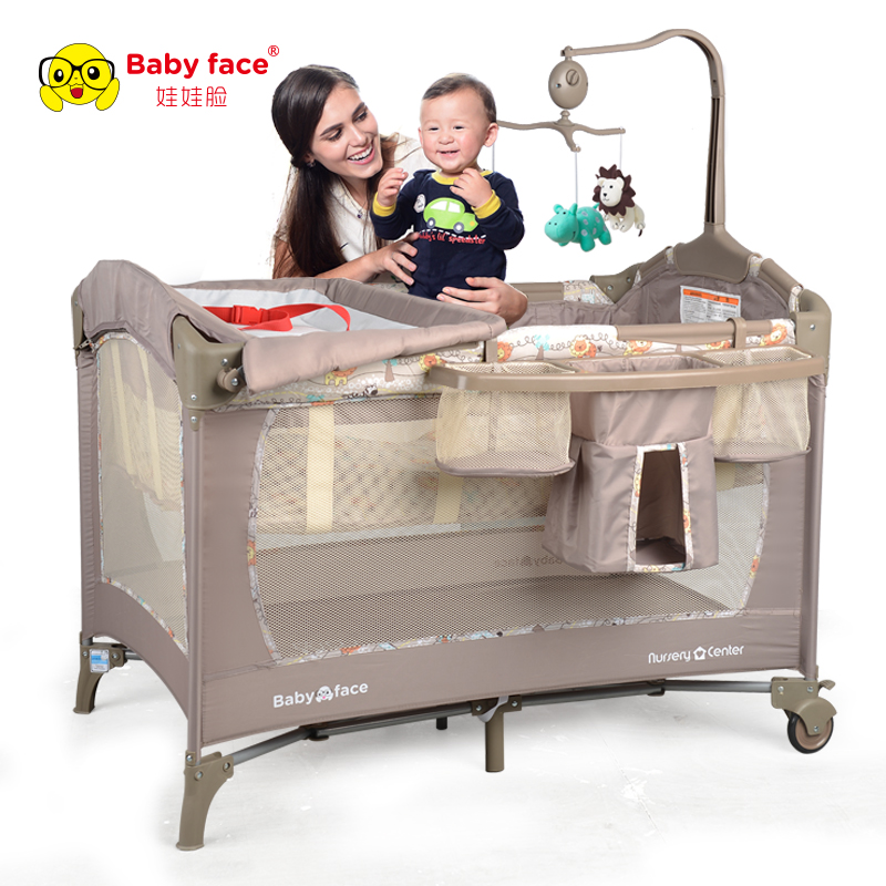 Multi-functional Cribs Supereme Version Steel Tube Structure Super Strong Baby Cribs Two-Layer Nursery Center BF820 ca arsenal slr105 a1 steel version