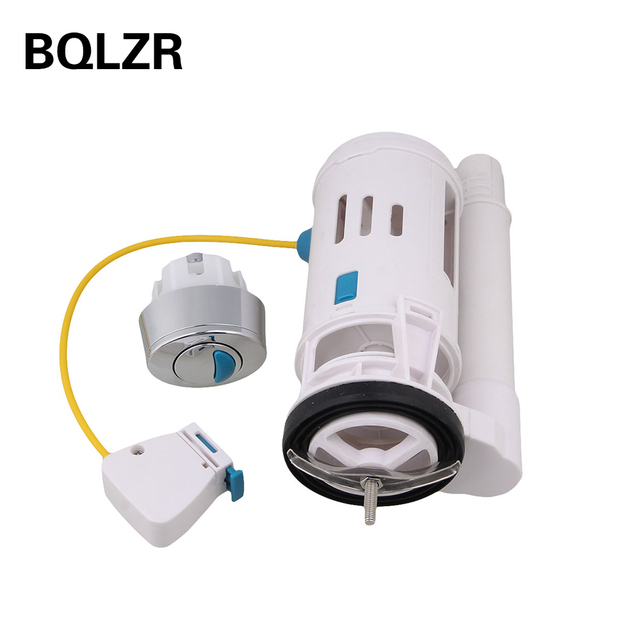 US $19 81 |BQLZR Toilet Push Button Flush Cistern Syphon Drain Valve Oval  shaped Button-in Filling Valves from Home Improvement on Aliexpress com |
