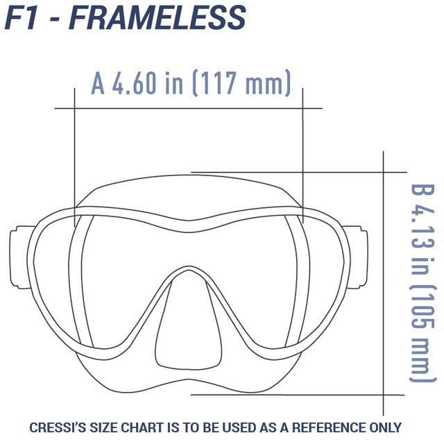Cressi F1 – Lilac