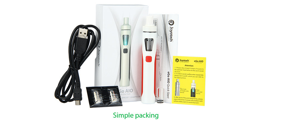 Joyetech eGo AIO Quick Start Kit - 1500mAh 2
