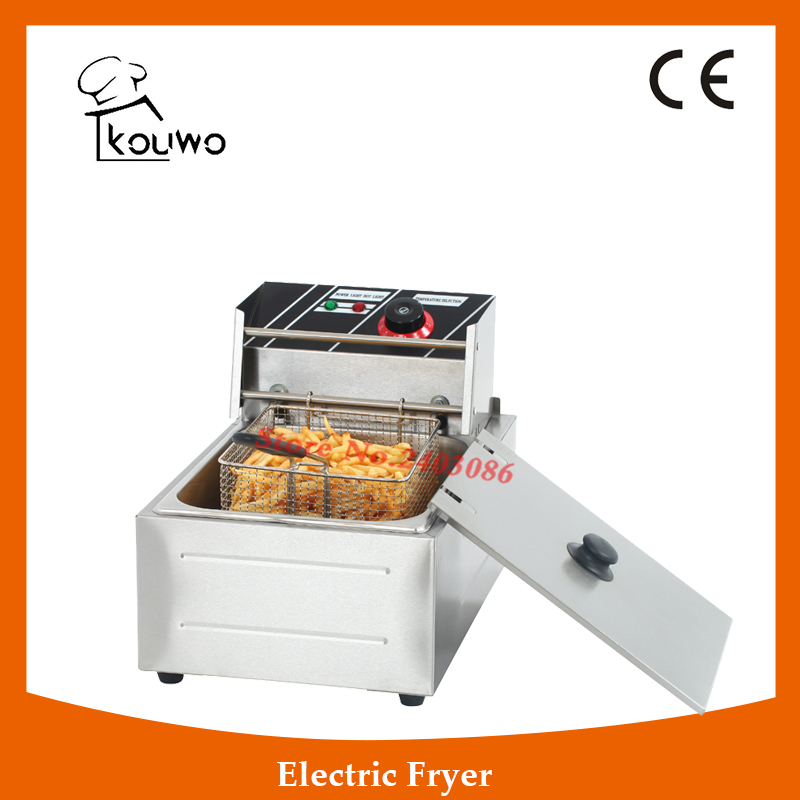 Professional Commercial electric Fryer Chicken Frying Machine,High Quality Desktop electric Fryer,Small Size electric Fryer salter air fryer home high capacity multifunction no smoke chicken wings fries machine intelligent electric fryer
