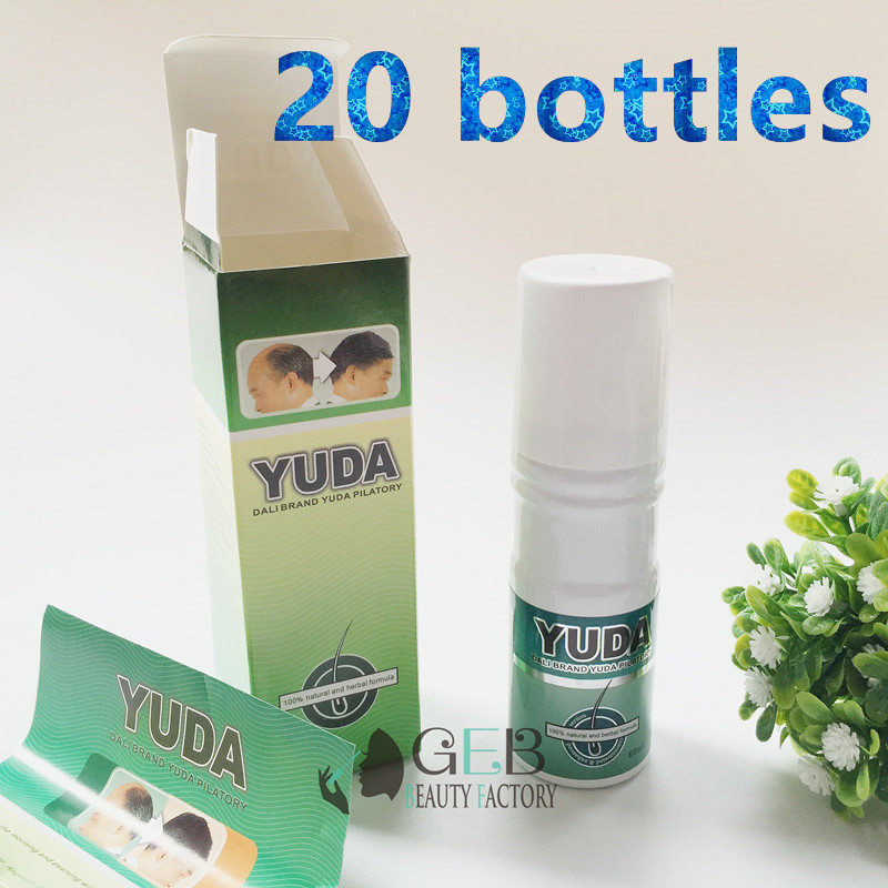 YUDA PILATORY 60ml hair growth spray x 20 bottles w