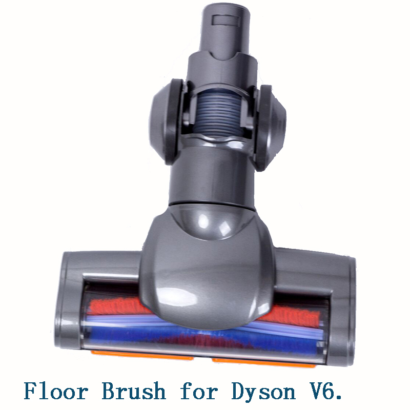 Electric Motorized Floor Brush Nozzle Turbo Brush For Dyson V6 DC44 DC45 DC58 DC59 DC61 DC62 74 Vacuum Cleaner Replacement Parts
