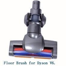 Z napędem elektrycznym szczotka podłogowa dyszy Turbo szczotka do odkurzacza Dyson V6 DC44 DC45 DC58 DC59 DC61 DC62 74 odkurzacz wymiana części