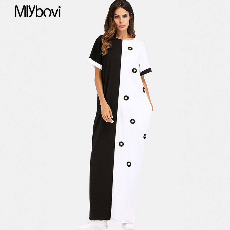 Detail Feedback Questions about Muslim women Long sleeve Dubai Dress maxi  abaya Patchwork Middle Eastern Plus Size islamic clothing robe Moroccan  Dress on ... 68258636759e