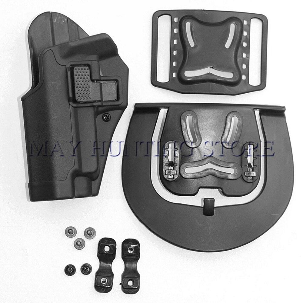 Tactical Pistolera de La Mano Izquierda Cinturón de Caza de Tiro Funda para SIG