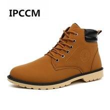 2f3aeaace IPCCM Otoño e Invierno nueva versión coreana tamaño tendencia botas Martin  botas transpirable resistente al desgaste botas de tr.