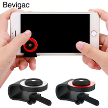Bevigac Universal Mobile Phone Smartphone Clip-on Mini Game Touch Screen Joystick Joypad for