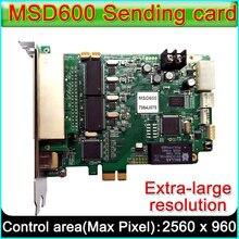 NOVASTAR – carte d'envoi MSD600 LED, contrôleur synchrone d'affichage vidéo P2.5-P10-P20 LED polychrome pour l'extérieur et l'intérieur