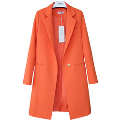 2019 весенне-осенние блейзеры для женщин, маленький костюм, плюс размер, куртка с длинным рукавом, повседневные топы, женские тонкие блейзеры, ...