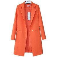 2019 Spring Autumn Blazers Women Small suit Plus size Long sleeve jacket Casual tops female Slim Wild Blazers Windbreaker coat