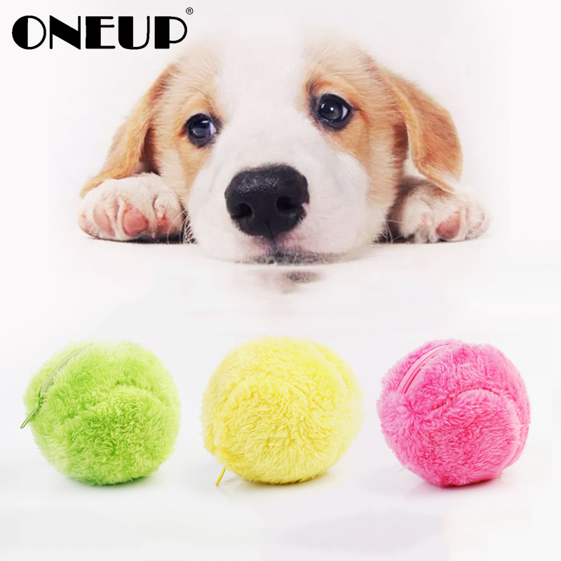 ONEUP Automatic Rolling Ball Electric Dust Cleaner Vacuum Floor Sweeping Robot Household Microfiber Ball Cleaning Tool Pet Toy Пылесос