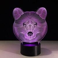Led Usb 3d Lamp Mini Led Lights Battery Powered Acrylic Night Light Mini Usb Lampara Led