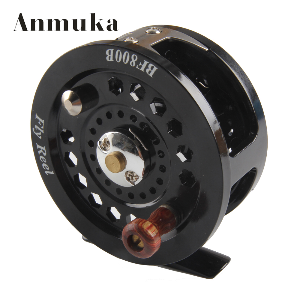 Buy anmuka fly flies fishing reels reel for Left handed fishing reels