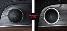 For Mercedes-Benz E Class W213 2016 2017 2018 Abs Inner Interior Car Speaker Audio Ring Trims 4pcs