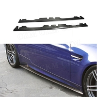 3 Series Carbon Fiber Side Skirts Door Aprons For BMW 3 Series E92 E93 M3 2008 2013 side Bumper Sill Stripe protector