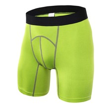 4 Colors Men Skin Tight Base Layer Outdoor Compression Gym Sports Shorts Fitness Athletic Training